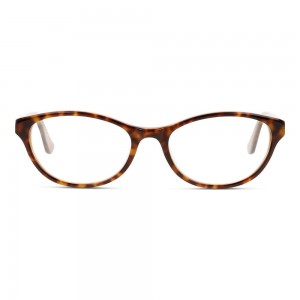 Full Rim Acetate Almond Havana Medium DbyD DBJF03 Eyeglasses