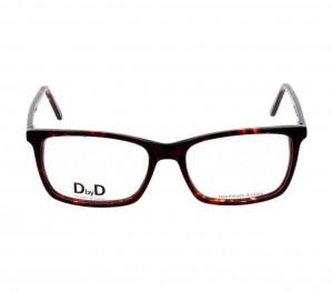 Full Rim Acetate Rectangle Havana Large DbyD DBCM22 Eyeglasses