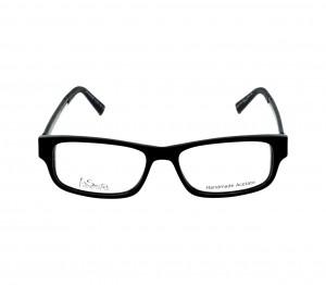 Full Rim Acetate Rectangle Black Medium I-Switch M303 Eyeglasses