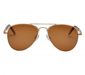Aviator Polarised Lens Brown Full Rim Large Vision Express 21327P Sunglasses