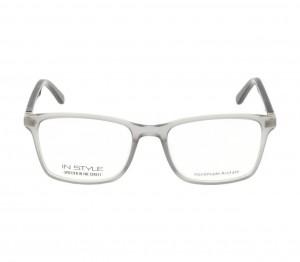Full Rim Acetate Rectangle Grey Medium In Style ISJM11 Eyeglasses