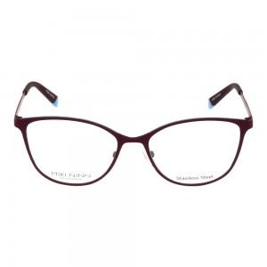 Full Rim Stainless Steel Almond Blue Small Miki Ninn MNJF01 Eyeglasses
