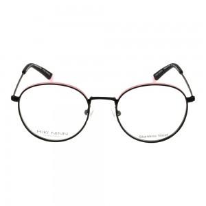 Full Rim Stainless Steel Round Black Small Miki Ninn MNJF03 Eyeglasses