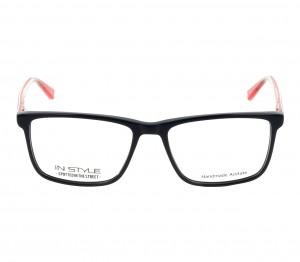 Full Rim Acetate Rectangle Blue Small In Style ISJM16 Eyeglasses