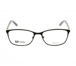 Full Rim Titanium Almond Black Medium 5th Avenue FAFF11 Eyeglasses