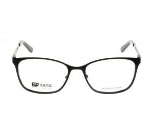 Full Rim Stainless Steel Rectangle Black Medium 5th Avenue FAJF01 Eyeglasses