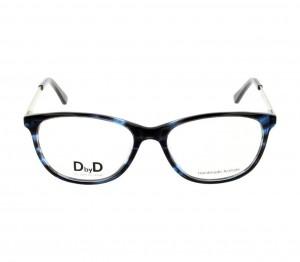 Full Rim Acetate Almond Havana Medium DbyD DBHF05 Eyeglasses