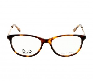 Full Rim Acetate Almond Havana Medium DbyD DBHF05 Eyeglasses