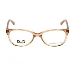 Full Rim Acetate Almond Brown Medium DbyD DBHF08 Eyeglasses