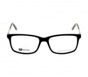 Full Rim Acetate Rectangle Black Large 5th Avenue FAHM09 Eyeglasses