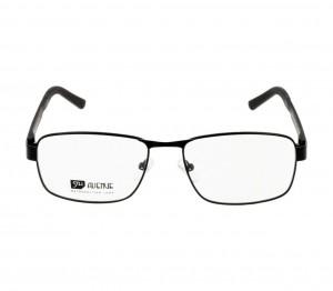 Full Rim Monel Rectangle Black Large 5th Avenue FAHM33 Eyeglasses