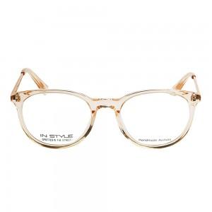 Full Rim Acetate Round Gold Medium In Style ISHF18 Eyeglasses