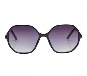 Rectangle Grey Gradient Polycarbonate Full Rim Medium Vision Express 41329 Sunglasses