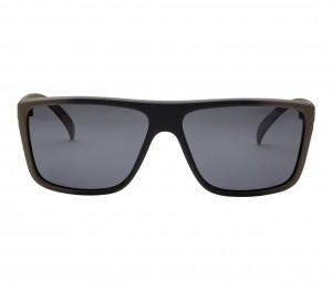 Rectangle Polarised Lens Grey Solid Full Rim Medium Vision Express 21685P Sunglasses