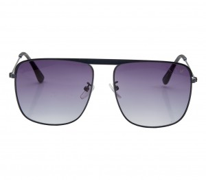Rectangle Polarised Lens Grey Gradient Full Rim Large Vision Express 21692P Sunglasses
