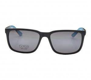 Rectangle Mirror Polycarbonate Full Rim Medium Vision Express 21698 Sunglasses