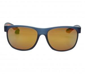 Rectangle Orange Mirror Polycarbonate Full Rim Medium Vision Express 81130 Sunglasses