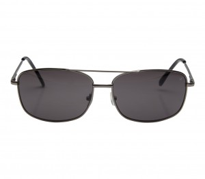 Rectangle Grey Stainless steel Full Rim Large Vision Express 12057 Sunglasses