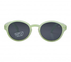 Round Grey Polycarbonate Small Vision Express 51119 Kids Sunglasses