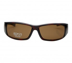 Rectangle Brown Polycarbonate Small Vision Express 51121 Kids Sunglasses