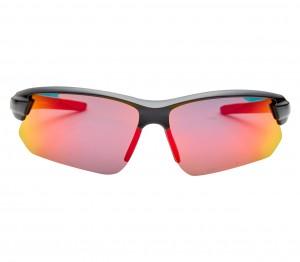 Rectangle Polarised Lens Red Mirror Half Rim Medium Vision Express 81135P Sunglasses