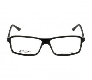 Full Rim Acetate Rectangle Black Large Activ ACHM17 Eyeglasses