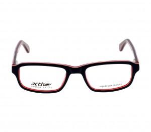 Full Rim Acetate Rectangle Blue Medium Activ ACBT01 Eyeglasses