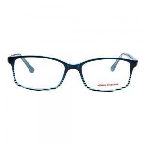 Full Rim Polycarbonate Rectangle Green Large Vision Express 29485 Eyeglasses