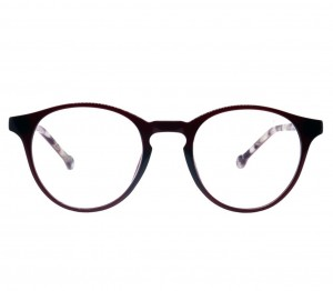 Full Rim Polycarbonate Round Red Small Vision Express 12060 Eyeglasses
