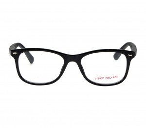 Square Black Polycarbonate Medium Vision Express 61310 Kids Eyeglasses