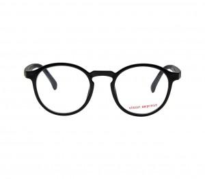Square Black Polycarbonate Small Vision Express 61311 Kids Eyeglasses