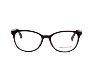 Square Black Polycarbonate Medium Vision Express 61312 Kids Eyeglasses