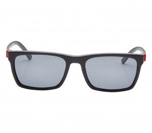 Rectangle Grey Acetate Full Rim Medium Vision Express 21712 Sunglasses