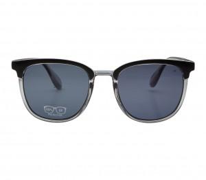Rectangle Grey Polycarbonate Full Rim Medium Vision Express 21782 Sunglasses