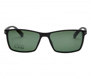 Rectangle Polarised Lens Green Full Rim Medium Vision Express 21785P Sunglasses