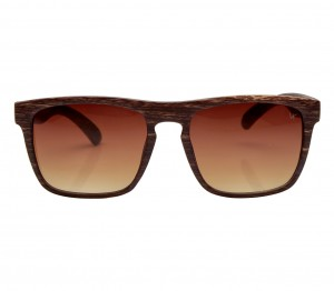 Rectangle Brown Gradient Polycarbonate Full Rim Medium Vision Express 21789 Sunglasses