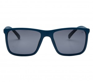 Rectangle Polarised Lens Grey Solid Full Rim Medium Vision Express 21798P Sunglasses