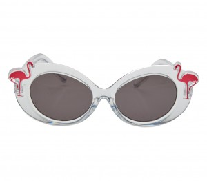 Oval Grey Polycarbonate Small Vision Express 51190 Kids Sunglasses