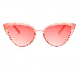 Cat eye Pink Polycarbonate Small Vision Express 51193 Kids Sunglasses