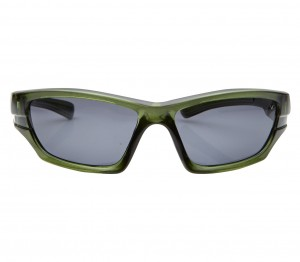 Wrap Polarised Lens Grey Solid Full Rim Medium Vision Express 81180P Sunglasses