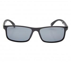 Rectangle Polarised Lens Grey Solid Full Rim Medium Vision Express 81181P Sunglasses