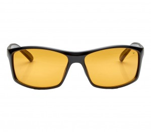 Wrap Amber Polycarbonate Full Rim Medium Vision Express 81182 Sunglasses