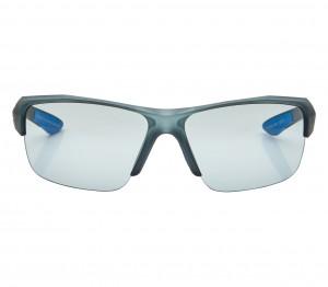 Wrap Grey Polycarbonate Half Rim Medium Vision Express 81186 Sunglasses