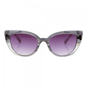 Cat eye Purple Gradient Polycarbonate Full Rim Medium Vision Express 41386 Sunglasses