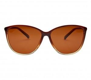 Cat eye Polarised Lens Brown Solid Full Rim Medium Vision Express 41394P Sunglasses