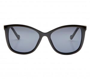 Rectangle Polarised Lens Grey Solid Full Rim Medium Vision Express 41400P Sunglasses