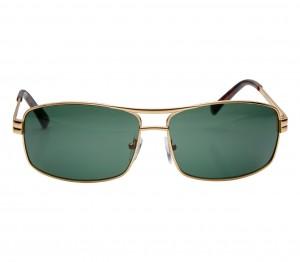 Rectangle Green Metal Full Rim Medium Vision Express 21801 Sunglasses