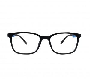 Full Rim TR90 Rectangle Black Medium Vision Express 29524AF Eyeglasses