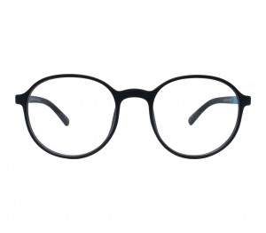 Full Rim TR90 Round Black Unisex Medium Vision Express 12089AF Eyeglasses