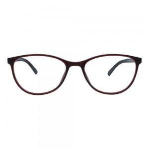Full Rim TR90 Rectangle Wine Medium Vision Express 49106AF Eyeglasses